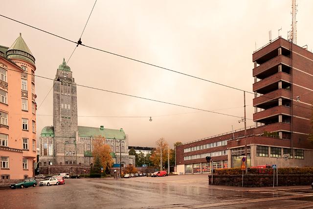 Kallion kirkko ja Helsingin pelastuslaitos