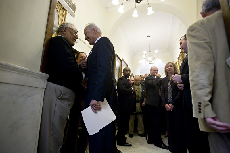 Vice President Joe Biden files for Obama