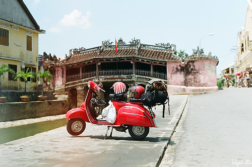 our Vespa in Hoi An by Qskulls™