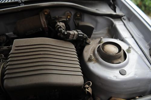 Toyota Starlet engine bay tidy up - Detailing World