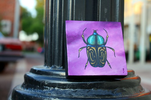 Beetle Painting