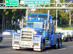 photo by secret squirrel (secret squirrel6) Tags: rescue classic melbourne hook towtruck recovery towing kenworth citylink monashfreeway wmodel secretsquirrel6truckphotos mtrowan