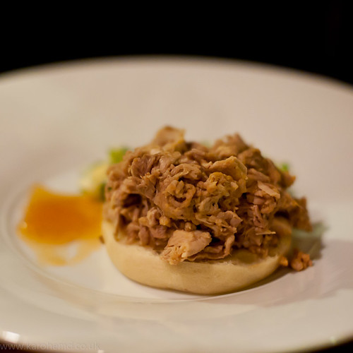 Slow Cooked Pork Shoulder, apple