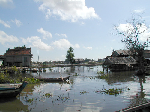 Flood plain, Cambodia. Photo by Adelia Ribier, 2001.