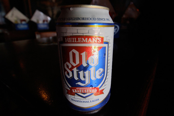 Old Style Can