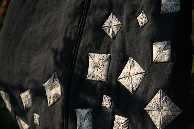 Gigoteuse - détail origami