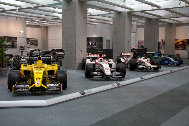 HONDA 3rd period F1 cars