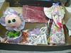 SURPRESAS !!! (Baby e Keridinha) Tags: eva doll bonecas dolls biscuit infantil fuxico feltro boneca tilda pap letras troca tela laço ovelha papelmache lacinho decoraçãoinfantil passoapasso tildas enfeita ovelhinhas papelagem