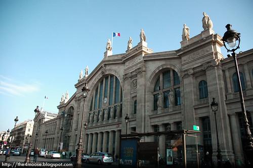 Gare du Nord - Facade