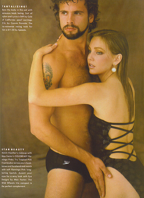 Lorenzo Lamas & HEATHER LOCKLEAR - Playgirl 1983