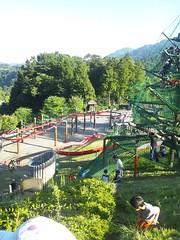 あいかわ公園のターザンライドの写真