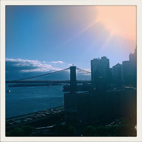 view from Manhattan Bridge