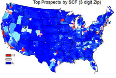 Geographic Prospect Scoring Map