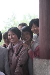 Middle School Girls in Hamhung North Korea (Ray Cunningham) Tags: de north korea du popular repblica nord northkorea core corea dprk coreadelnorte democrtica demokratische   hermitkingdom raycunningham  volksrepublik      koreainpidemokratikuskztrsasg