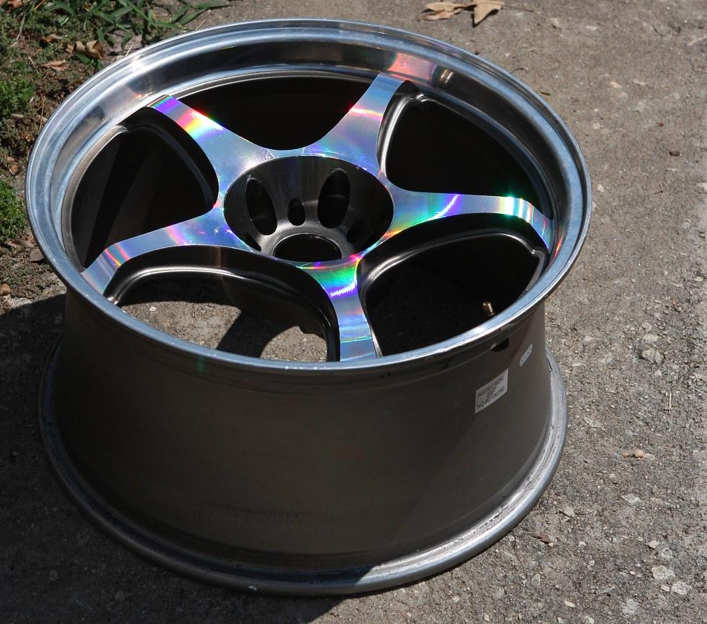 Vinyl Wrapped Wheels