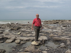 CAP GRIS-NEZ - Radu enjoys the low tide