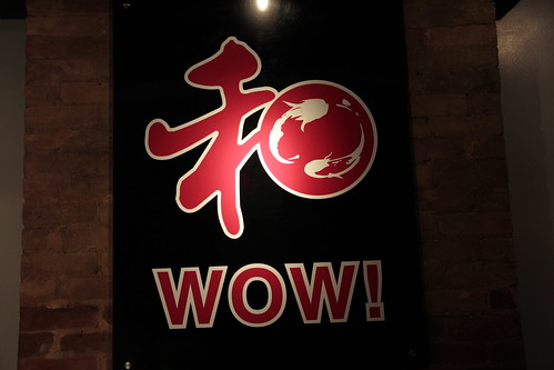 Wow Sushi Sign