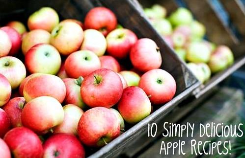 10 Simply Delicious Apple Recipes!