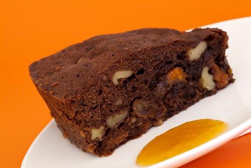 Pastís de xocolata amb fruites seques 2