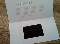 Deutsche Telekom: Premieren-Ticket