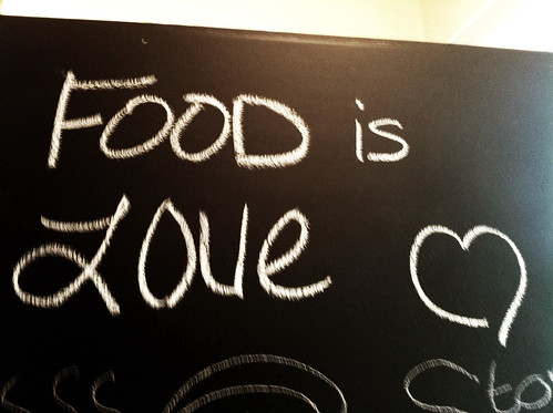 Food is Love at Stone Soup Cafe