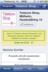 Foursquare/Facebook: LIGA total MobileTV Special