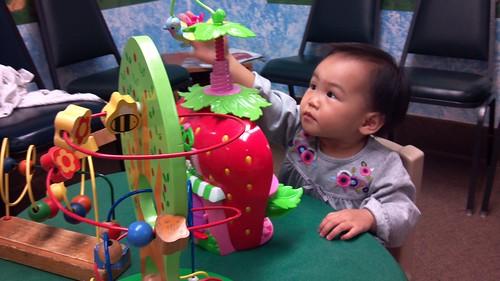 Anna - 18 Months Checkup