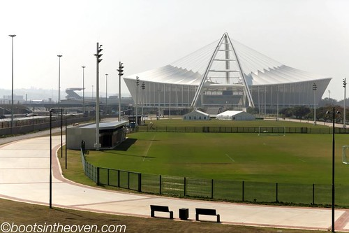 Durban's beautiful World Cup stadium