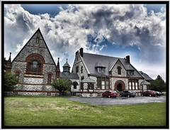Willard Memorial Chapel-Welch Memorial Hall ~ Auburn NY (Onasill) Tags: new york travel windows usa ny church glass stone architecture louis design hall us memorial place state style chapel places auburn landmark tourist jackson historic stained holy architect warner register comfort romanesque tiffany cayuga welch registry attraction apps willard revival ipad richardsonian nrhp photogene buildingandrew onasill rememberthatmomentlevel1