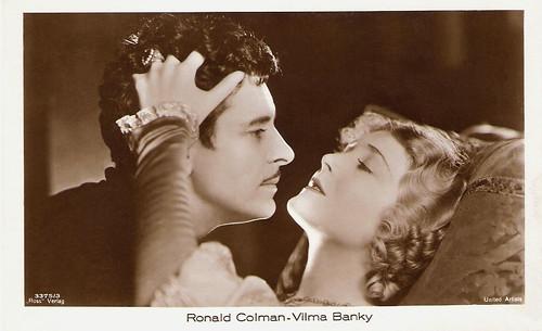 Ronald Colman, Vilma Banky