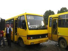 Autocarro em Lviv para Shehyni