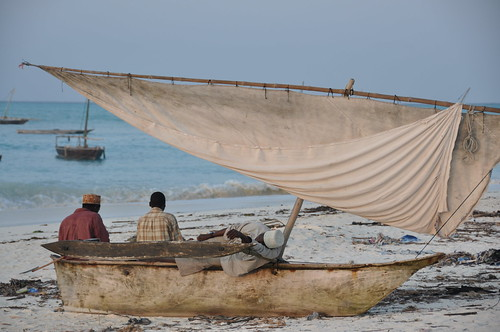 Beached dhow