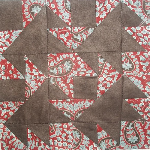 Darting  Birds FW quilt along by namawsbuzyquiltn
