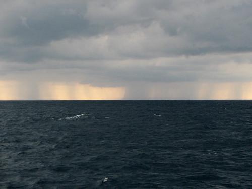 Distant rains