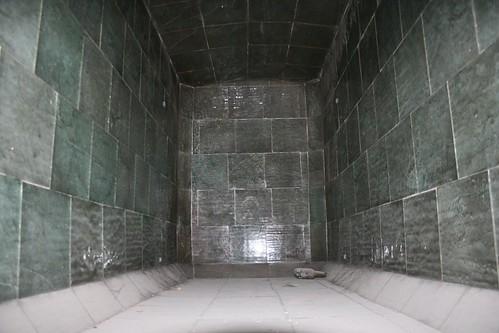 "Inside the ""oven"""