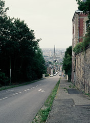 Rouen (one234five) Tags: road france mamiya hill rouen booyah biketrip downthere m645
