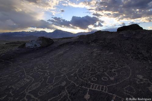 Sky Rock, Volcanic Tablelands, Eastern Sierra, California
