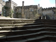 "Haddon Hall - Courtyard • <a style=""font-size:0.8em;"" href=""http://www.flickr.com/photos/50616479@N07/6173803535/"" target=""_blank"">View on Flickr</a>"