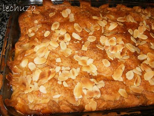 Empanada de manzana-horneada