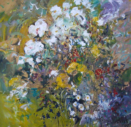 Glorious Flowers - Painting - Impressionistic
