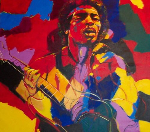 Hendrix - Painting - Modern Expressionism