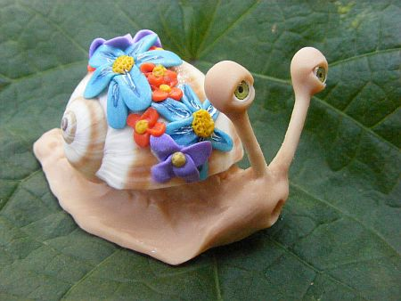 flower girl snail