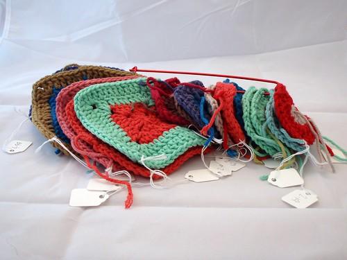 Babette Blanket squares