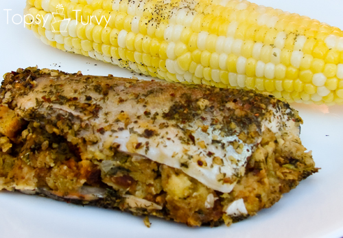 Stuffed Trout Recipe Ashlee Marie Real Fun With Real Food