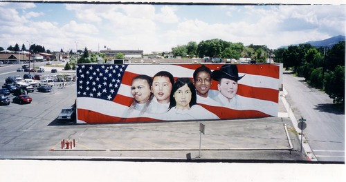 United by Our Children - Ely, Nevada Mural by Ygartua