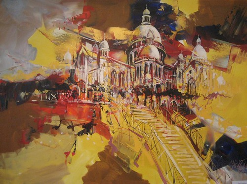 Montmartre in the Sun - Painting - Impressionism