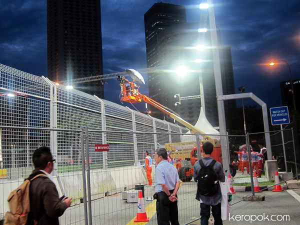 Just before F1 starts.. 22 Sept 2011