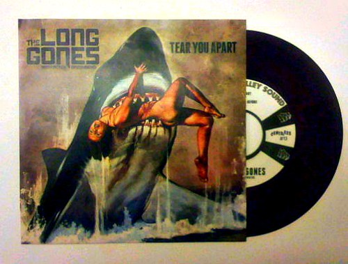 "The Long Gones ""tear You Apart"" 7"""
