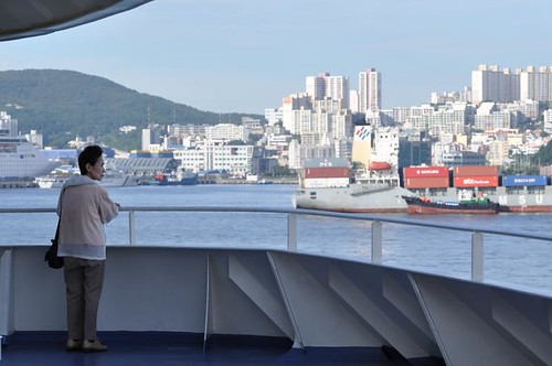 Arrival in Busan, South Korea (DHK/DH10)