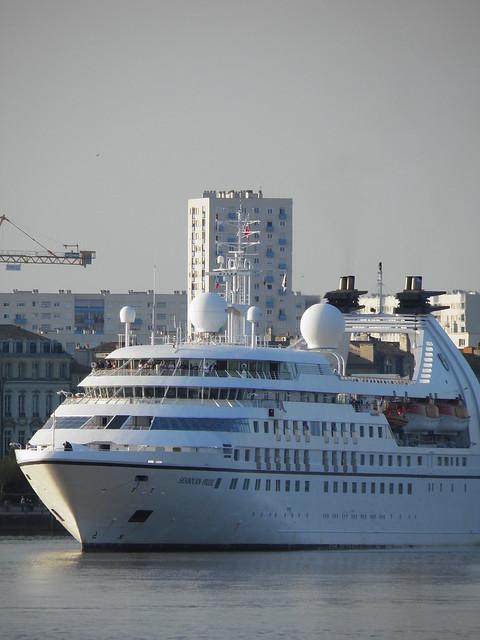 Arrivée du Seabourn Pride à Bordeaux, Septembre 2011